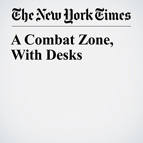 A Combat Zone, With Desks copertina