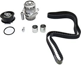 Timing Belt Kit compatible with Audi A4 / A4 Quattro 05-09 W/Water Pump 4 Cyl 2.0L Eng.