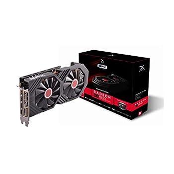 XFX Radeon RX 580 GTS XXX Edition 1386MHz OC+ 8GB GDDR5 VR Ready Dual BIOS 3xDP HDMI DVI AMD Graphics Card  RX-580P8DFDA