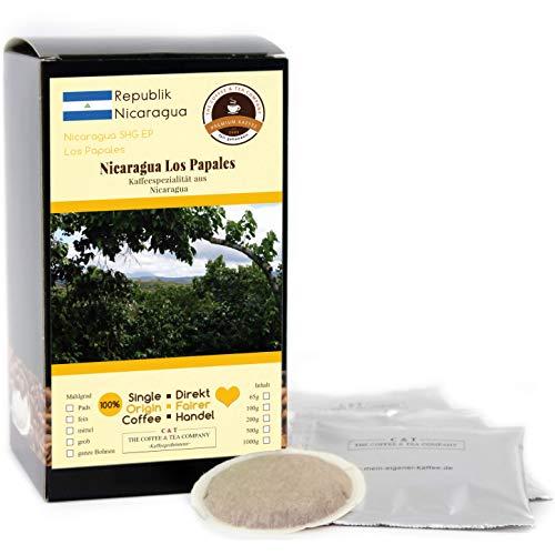 Kaffee Globetrotter - Kaffee Mit Herz - Nicaragua Los Papales - 30 Premium Kaffeepads - für Senseo Kaffeemaschine - Spitzenkaffee Fair Gehandelt Unterstützt Soziale Projekte