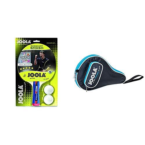 JOOLA Tischtennisschläger Rosskopf Smash & TT-Hülle Pocket schwarz-blau