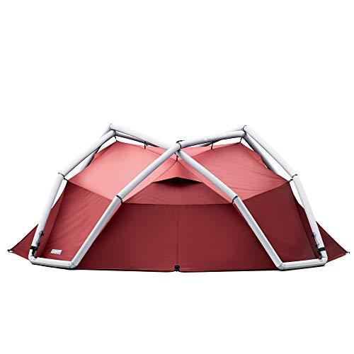 HEIMPLANET Original | Backdoor - 4 Season | 4 Person Dome Tent | Inflatable Pop Up Tent - Set Up in Seconds | Waterproof Outdoor Camping - 5000Mm...