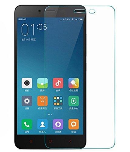 Protector de pantalla Cristal templado para Xiaomi Redmi Note 2 Calidad HD, Grosor 0,3mm, Bordes redondeados 2,5D, alta resistencia a golpes 9H. No deja burbujas en la colocación (Incluye inst