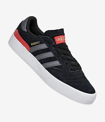 adidas Busenitz Vulc II, Zapatillas Deportivas Hombre, Core Black DGH Solid Grey Vivid Red, 44 2/3 EU