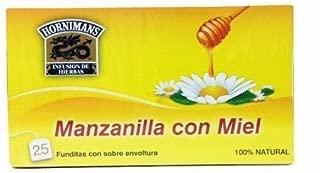 Hornimans Manzanilla Con Miel (Chamomile Tea) 50grs. 3-pack