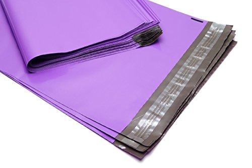 100 Folienmailer® Versandbeutel Violett 250 x 350 mm: Bunte Versandtaschen aus LDPE Coex Folie, selbstklebend