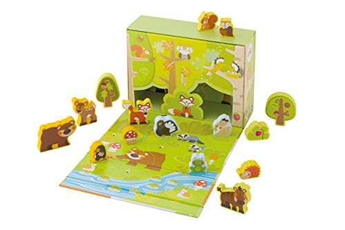 Sevi - 82854 - Figurine Animal - Play Case Forêt