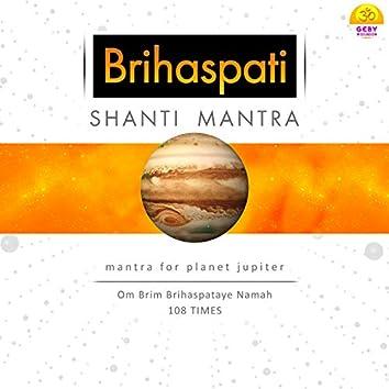 Brihaspati Shanti Mantra - Mantra for Planet Jupiter