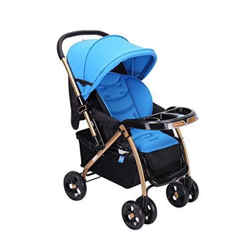 Best Price YONGJUN Folding Jogging Stroller, Lightweight Pushchair, Children's Travel System with La...