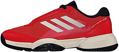 Adidas Barricade Club Xj, Zapatillas de Tenis Unisex niño, Naranja (Maosno/Tincru/Esctra 000), 36 EU