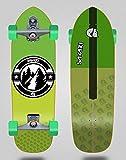 Surfskate Sakari with T12 Surf Skate Trucks Downhill Juice Green 33.5 Hill