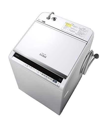 日立 タテ型洗濯乾燥機 ビートウォッシュ 洗濯12kg/洗濯~乾燥6kg 本体幅61cm BW-DV120E W ホワイト