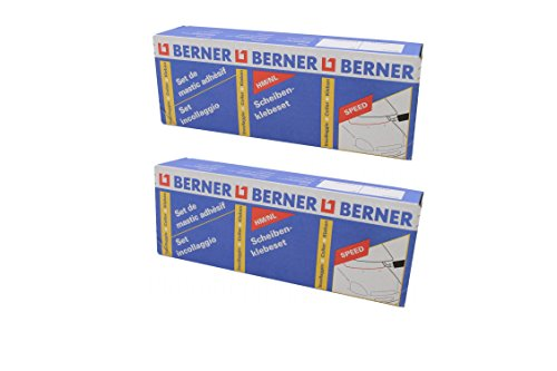 2x Berner Scheibenkleber Set Scheiben- klebeset Speed
