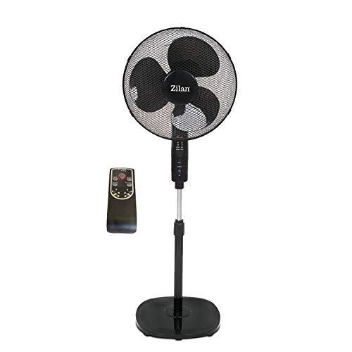 Ventilador de pie | Ventilador | standfan | Wind eléctrica, 40cm de...