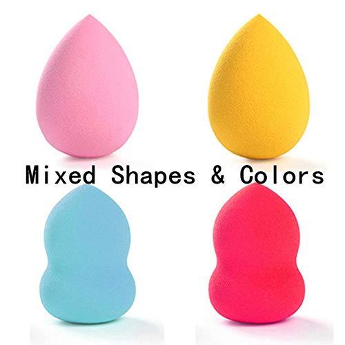 VIE Maquillage Éponge Cosmétique Puff Facial Liquide Fondation Base Poudre Mélange Outil 4 pcs/lot, 4 pcs