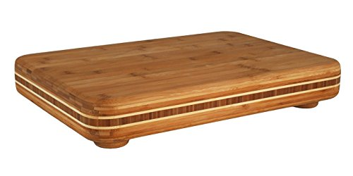 Totally Bamboo 20-3050 Bamboo Big Easy Chopping Block, 19' x 13.5'