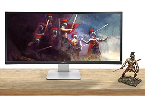 Dell U3415W UltraSharp WQHD 3440 x 1440 34 Inch Curved Gaming Monitor with Integrated Speakers, Vesa Compatible, Height Adjustable, Tilt, Swivel, Picture-by-Picture (PBP), USB-C, HDMI and DisplayPort
