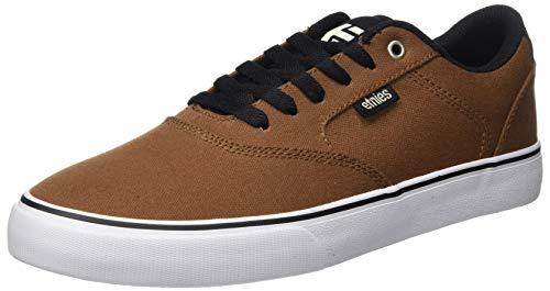 Etnies Blitz, Zapatillas de Skateboard para Hombre, Marrón (201/Brown/Black 201), 41.5 EU