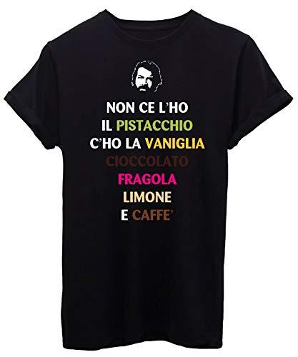 iMage T-Shirt Gelato Pistacchio Pari E DISPARI Bud - Famosi - by Uomo-M-Nera