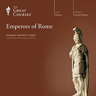 Emperors of Rome                   Auteur(s):                                                                                                                                 Garrett G. Fagan,                                                                                        The Great Courses                               Narrateur(s):                                                                                                                                 Garrett G. Fagan                      Durée: 17 h et 38 min     5 évaluations     Au global 4,6