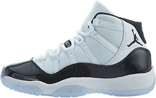 Jordan Air 11 Retro (GS), Zapatillas de Deporte Hombre, Multicolor (White/Black/Concord 100), 40 EU
