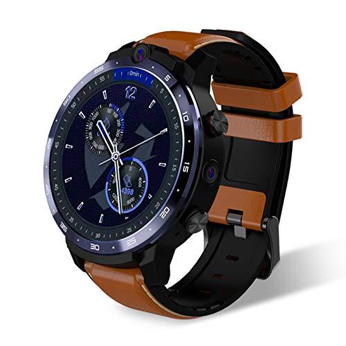 LEMFO 3 + 32G Android Screen Big Doual Cámara GPS Posicionamiento WiFi Estudiante Adulto 4G Reloj Inteligente,B