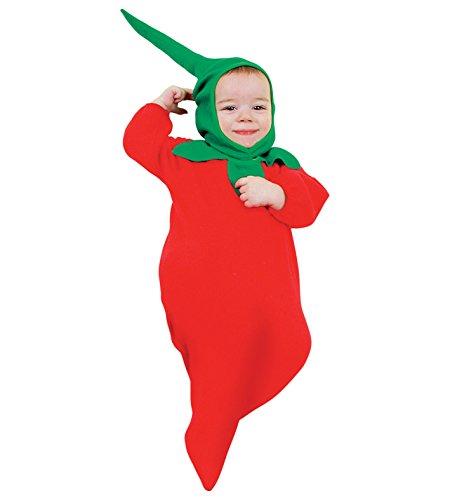 Costume vestito di carnevale per neonato PEPERONCINO