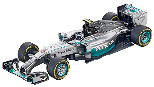 Carrera Digital 132 - 20030732 - Voiture De Circuit - Mercedes-Benz F1 W05 Hybrid - N.Rosberg No.6