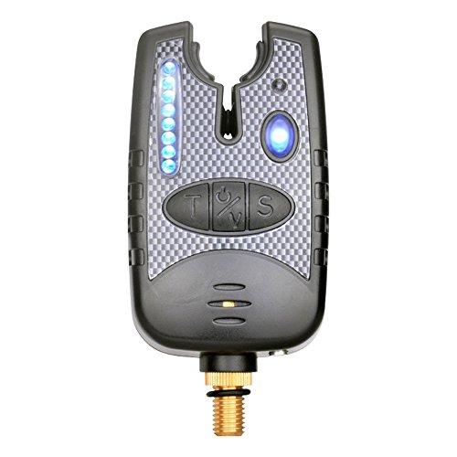 fishing poisson Bite alarme Bite Finder Indicateur avec 8 LED pour canne à pêche à la carpe