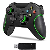 Wireless Controller for Xbox One, Byforphye 2.4GHZ Gamepad Joystick with Receiver with Dual-Vibration for Xbox One/One S/One X/PS3 /One Elite/PC Windows 10