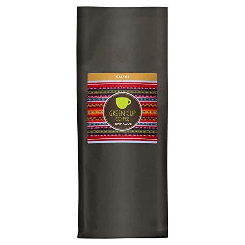 Green Cup Coffee Kaffee Tempixque - Hochlandkaffee aus Guatemala - sortenreine Bio Kaffeebohnen in Premium Qualität - Fairtrade Bohnen mit starken Aromen - Edel & Mild - 1kg ganze Bohne