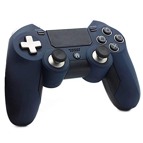 Ashey Gamepad PS4, Doppia Vibrazione, Joystick Controller di Gioco Wireless PS4 2.4G Elite, per Console di Gioco Video Play Station 4 e PS3