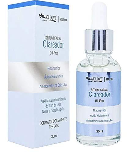 Sérum Facial Clareador Oil-free Max Love