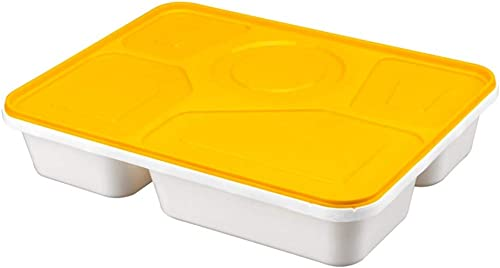 Meilandeng Brotdose, FüNf-Gitter-Essensbox Schlie ch Business Package Box