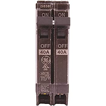 GE GIDDS-608057 608057 2 Pole Thin Circuit Breaker