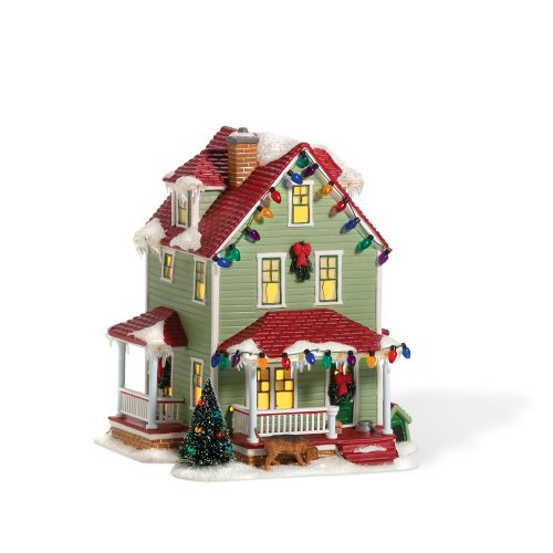 Department 56 Christmas Story Village Bumpus House Lit Building