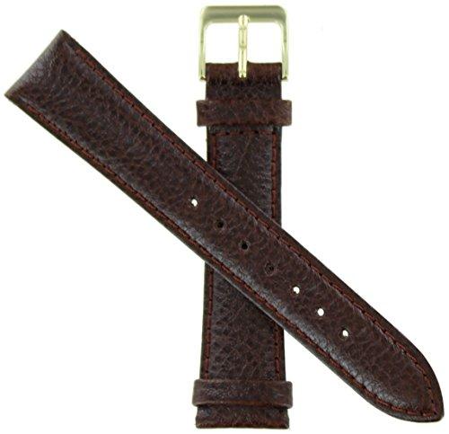 WBHQ 20mm Brown 832 Polished Calf Watch Band