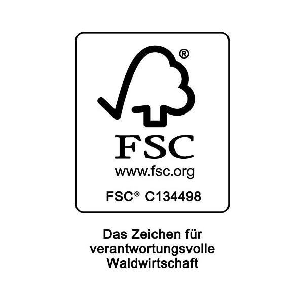 Deuba Sitzgruppe Sydney 4+1 FSC®-zertifiziertes Akazienholz 5-TLG Tisch klappbar Sitzgarnitur Holz Garten Möbel Set
