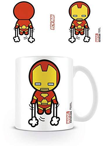 Marvel Kawaii - Taza Iron Man, 320 ML