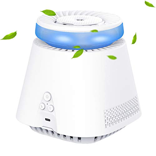 Air Purifier, Home Air Purifiers Cool Mist Humidifiers 2-IN-1 for Bedroom, Small Room and Office Whisper Quiet
