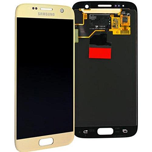 SAMSUNG Display LCD Galaxy S7 SM-G930F Oro Gold Service Pack BOMAItalia