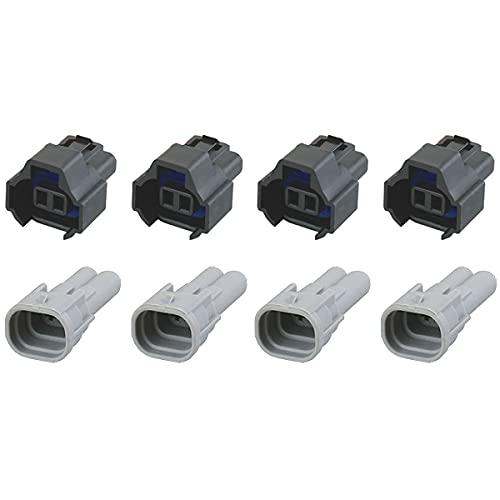 Connecteur d'injecteur - NIPPON DENSO DUAL SLOT (4 x SET)
