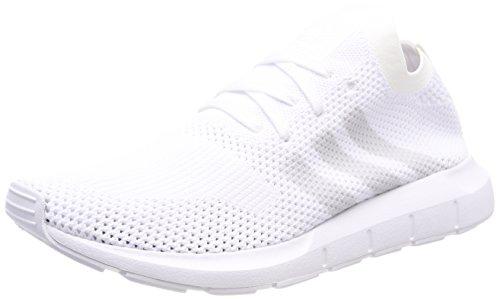 adidas Herren Swift Run Primeknit Fitnessschuhe, Weiß (Ftwbla/Griuno/Ftwbla 000), 48 2/3 EU