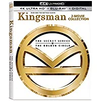 Kingsman 2-Movie Collection (4K/UHD) on Blu-Ray