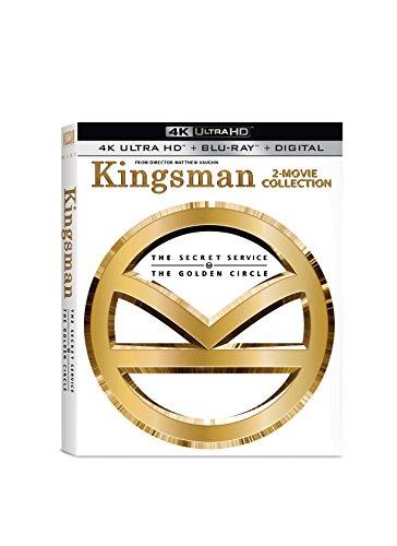 Kingsman 1+2 2-pack [4k Uhd] [blu-ray]