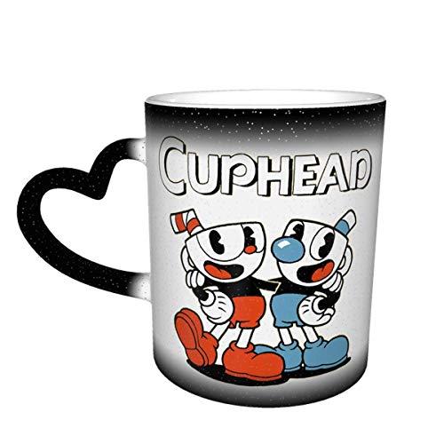 XCNGG Keramikbecher Farbverlauf Sternenhimmel Tasse Tasse Kaffeetasse Cu_Phead One 14.5 Oz Color Changing Heat Sensitive Ceramic Mug Coffee Mug Cup for Water Tea Drinks