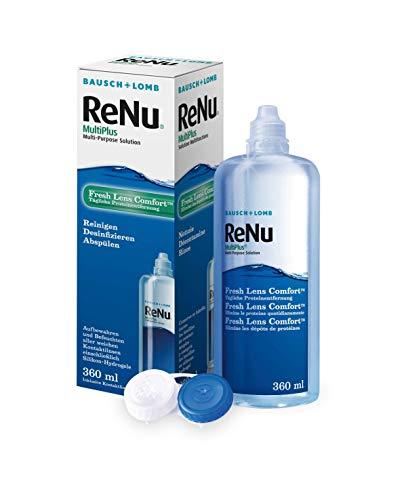 ReNu MultiPlus Pflegemittel für weiche Kontaktlinsen, Einzelflasche, (1 x 360 ml)