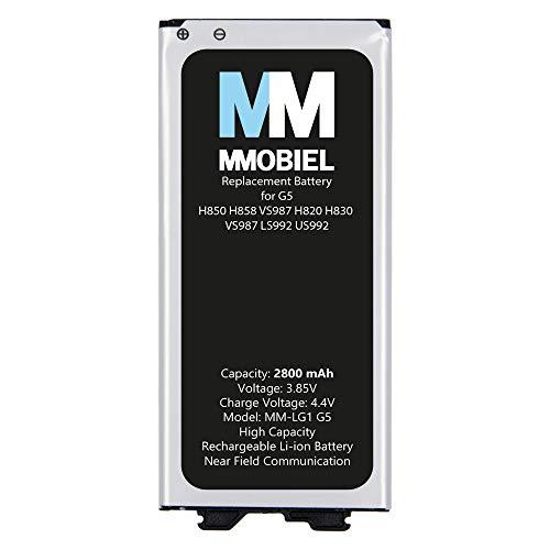 MMOBIEL Repuesto de Batería Compatible con LG G5 H850 5.3 Pulg 2016 2800mAh