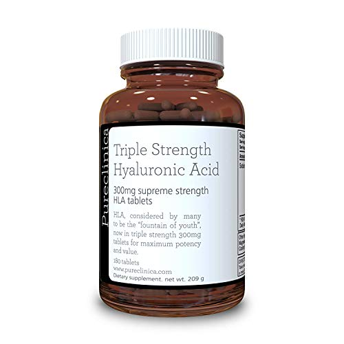 Ácido Hialurónico 300mg x 180 tabletas (3 meses de...