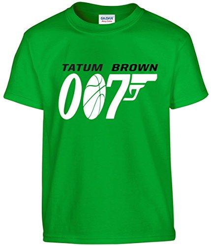 "The Silo Green Boston Tatum Brown 007"" T-Shirt"
